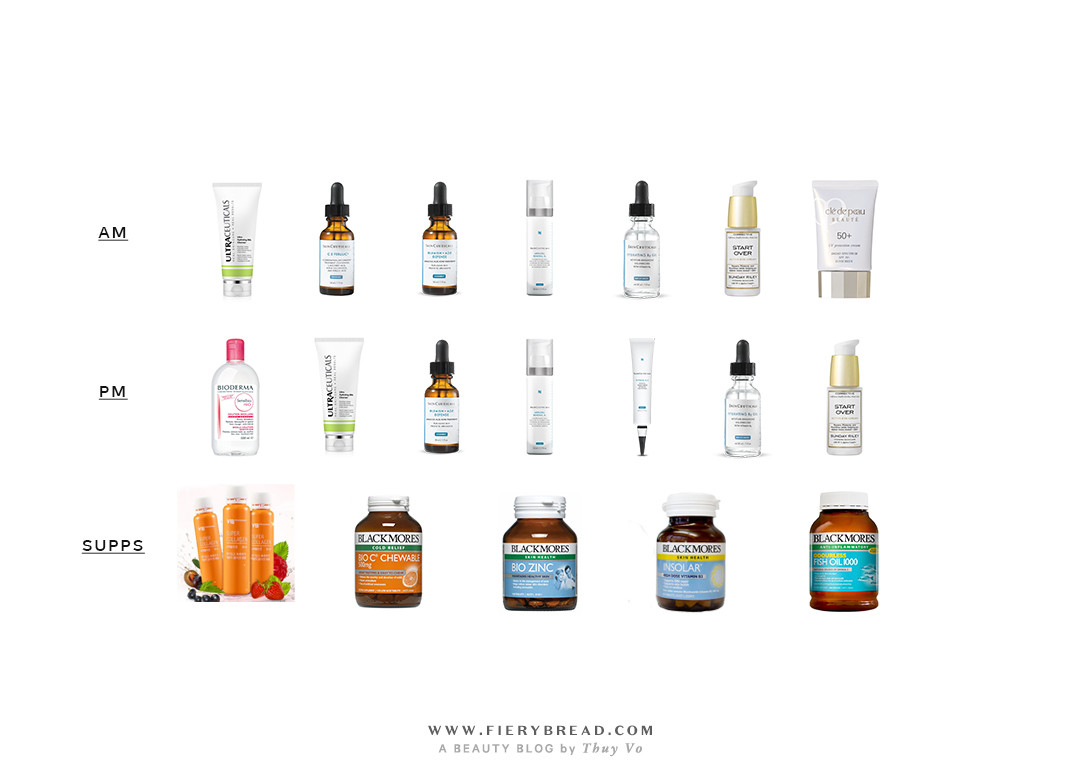 Fierybread by Thuy Vo - Skincare Routine