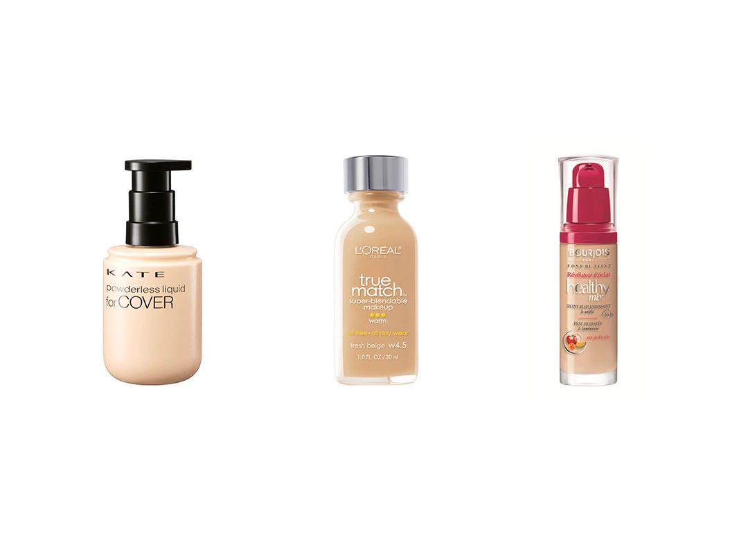 Fierybread - Drugstore foundation - Bourjois L'Oreal Kate Tokyo